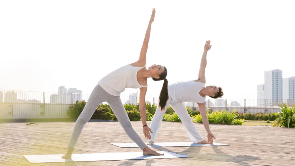 Tập thể dục thường xuyên có thể kiểm soát được trọng lượng cơ thể.